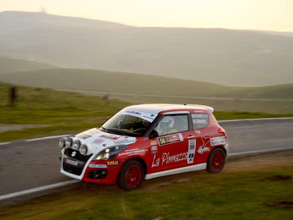 Sergio Denaro, Ermanno Corradini (Suzuki Swift #58, CST Sport)