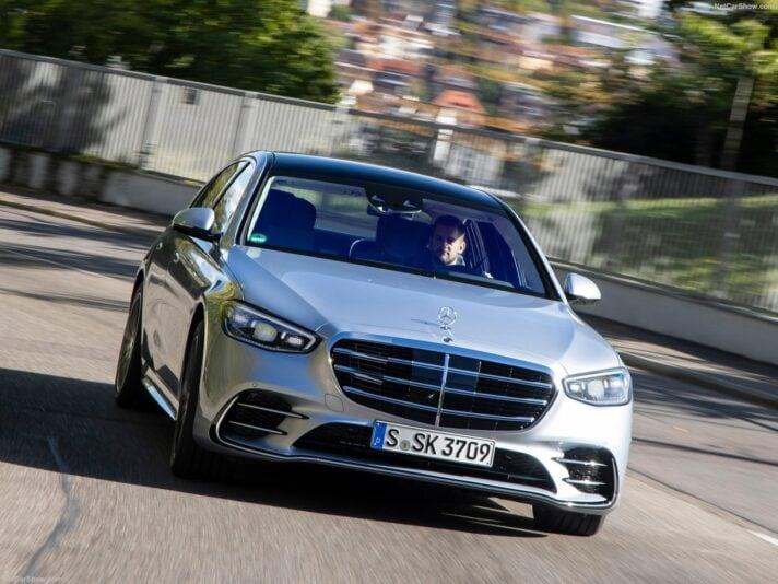 Mercedes classe S frontale