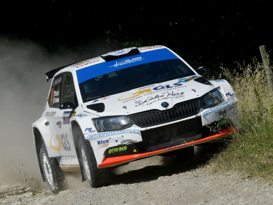 Ceccoli Skoda Fabia 2 Rally San Marino 2018
