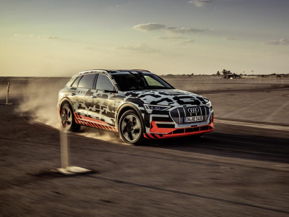 Audi e-Tron - Primo Contatto 2018 - 1