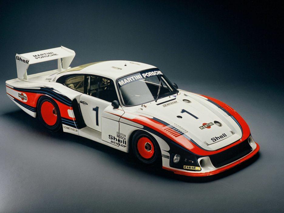 Porsche 935-78 vista dall'alto