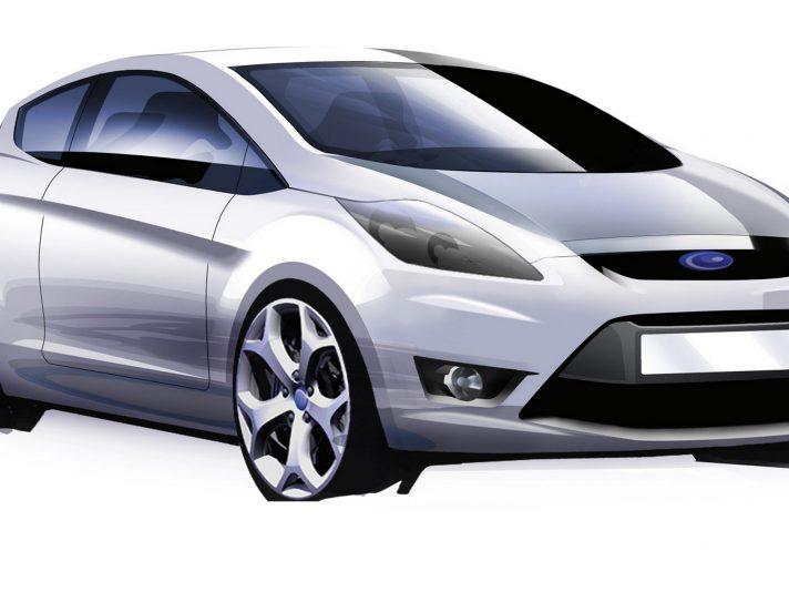 Ford Fiesta sesta generazione design