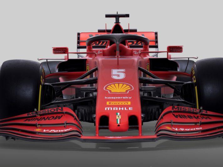 Ferrari SF1000 frontale