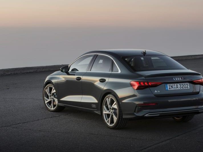 Audi A3 Sedan tre quarti posteriore