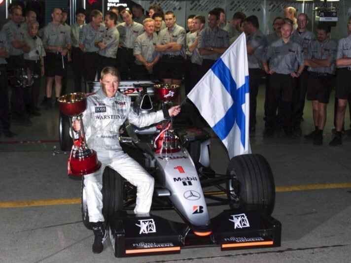 Mika HAKKINEN /GP VON JAPAN 1999