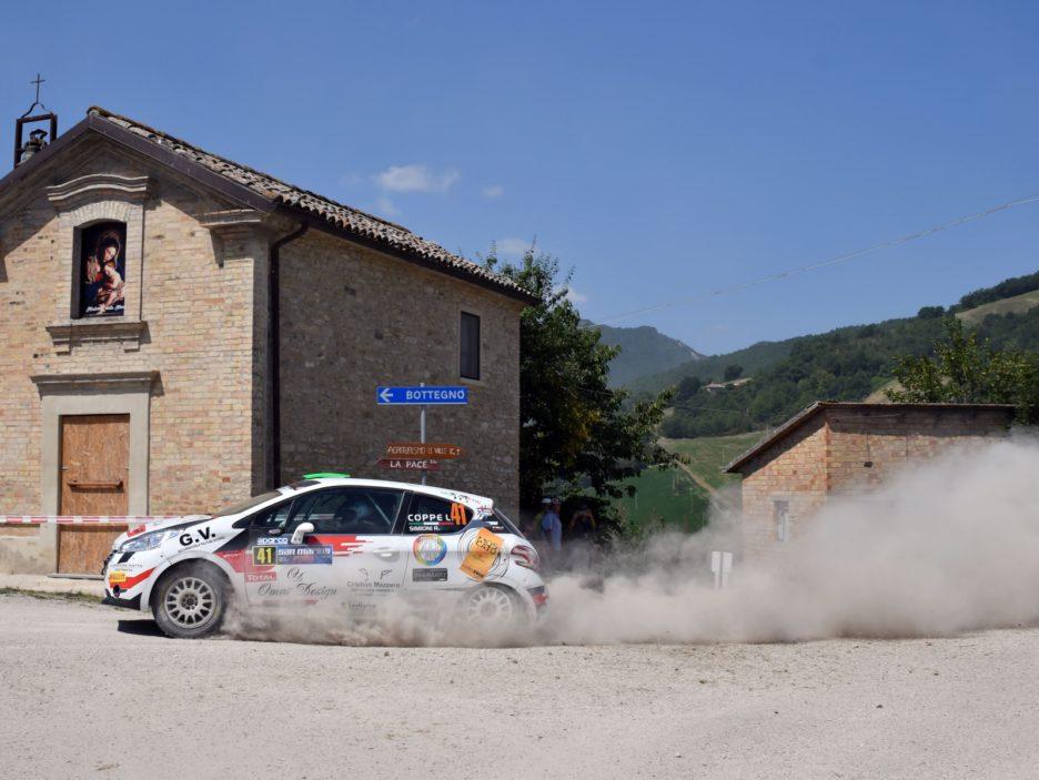 Lorenzo Coppe, Roberto Simioni (Peugeot 208 R2 #41, ASD Super 2000)