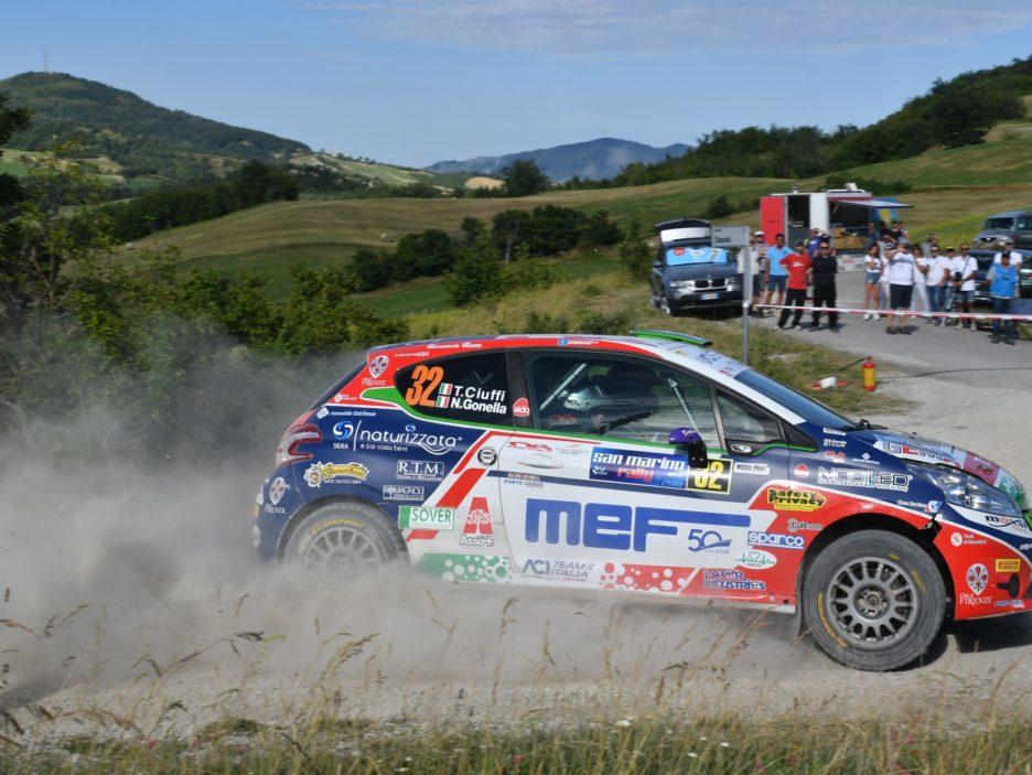 Tommaso Ciuffi, Nicolo Gonella (Peugeot 208 R2 #32, Jolly Racing)