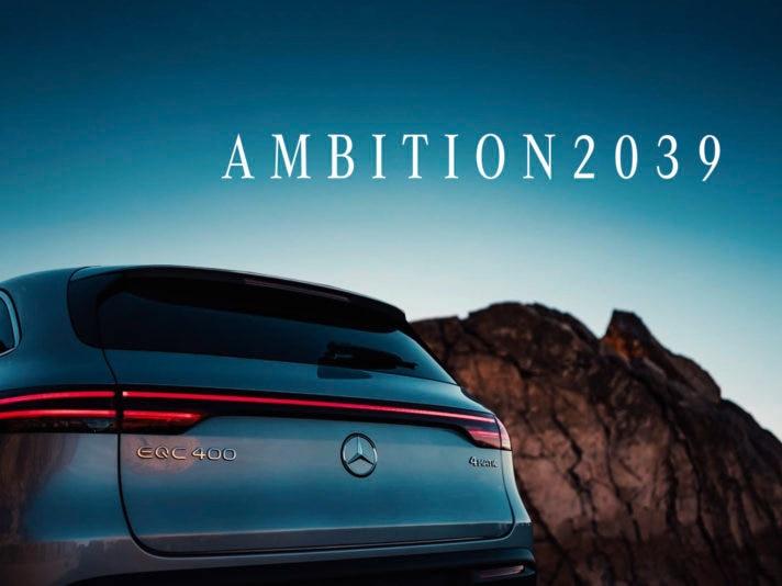 """""""Ambition2039"""": Unser Weg zu nachhaltiger Mobilität""""Ambition2039"""": Our path to sustainable mobility"""