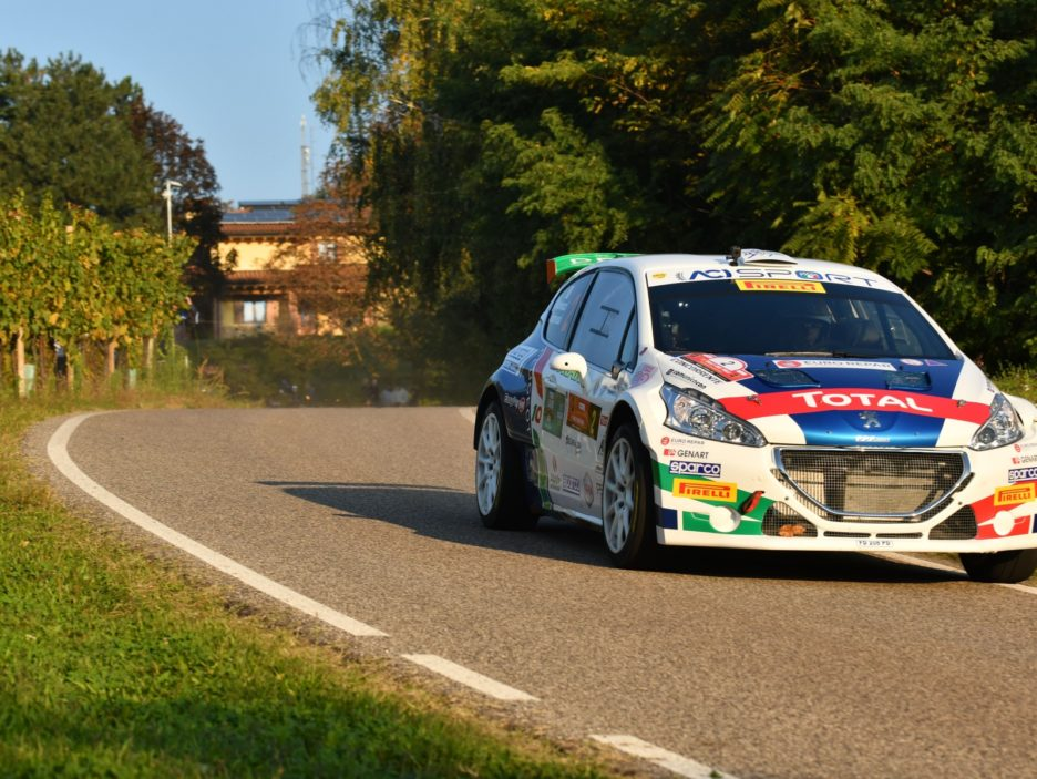 Paolo Andreucci, Anna Andreussi (Peugeot 208 T16 R5 #2, FPF)