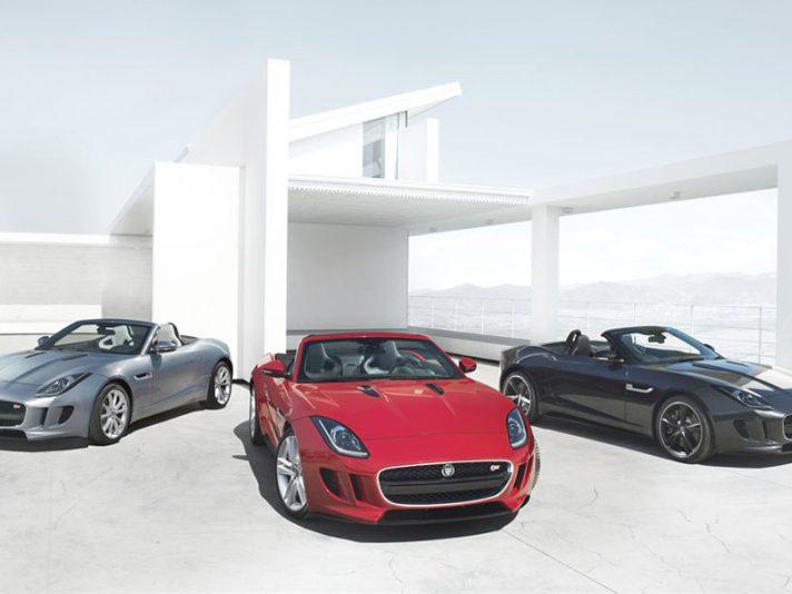 Jaguar F-Type - La gamma