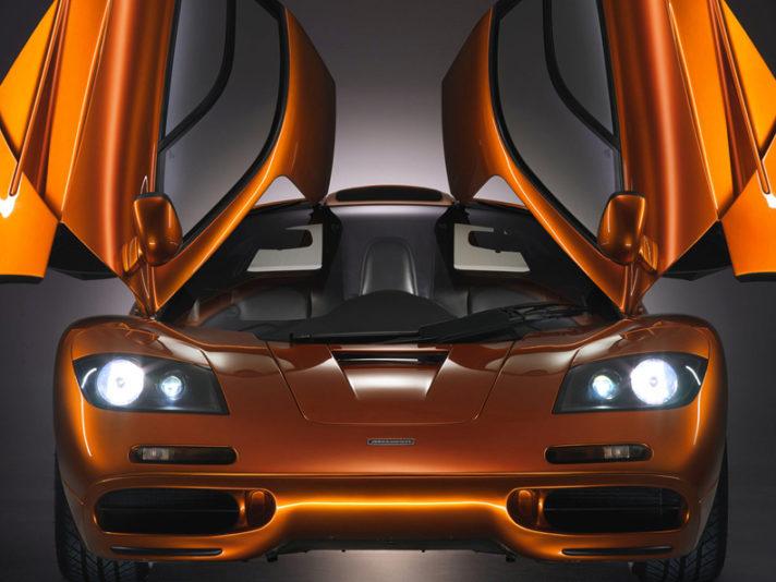 McLaren F1 frontale