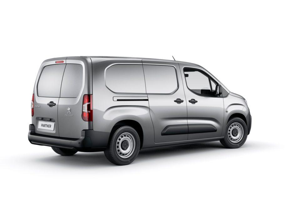 Peugeot Partner tre quarti posteriore
