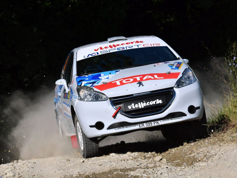 Andrea Mazzocchi, Silvia Gallotti (Peugeot 208 R2 #35, Leonessa Corse)