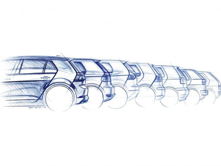 Volkswagen Golf evoluzione design 2