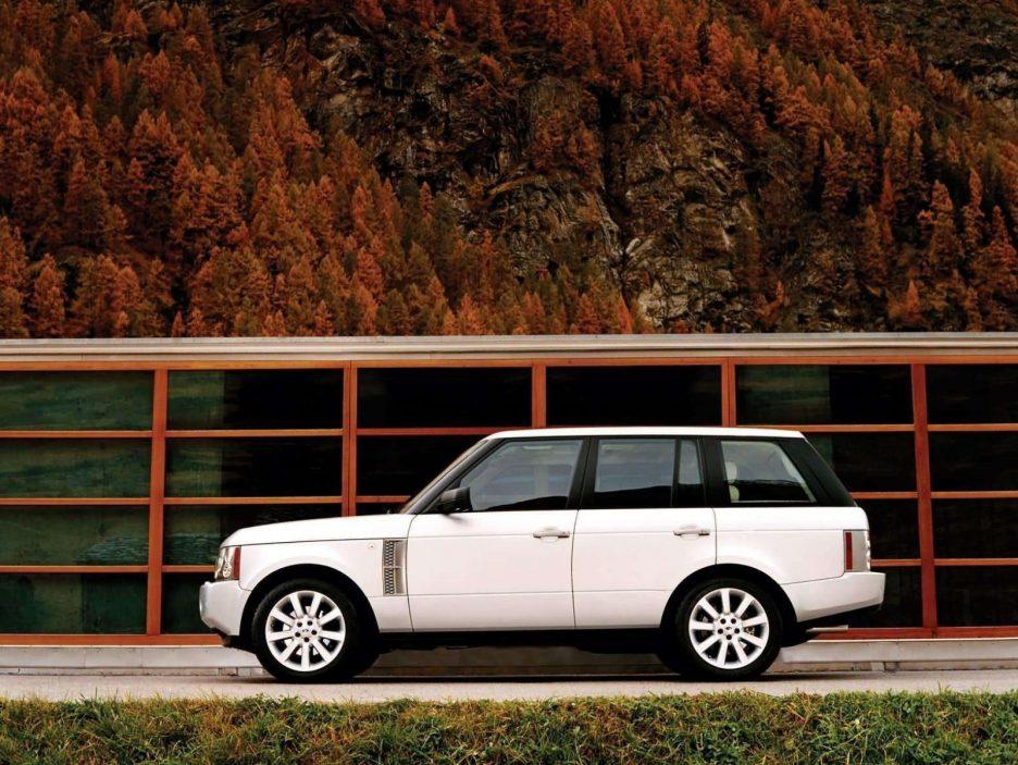 Land Rover Range Rover profilo