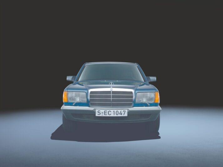 Mercedes-Benz S-Klasse der Baureihe 126 (1979 bis 1991).