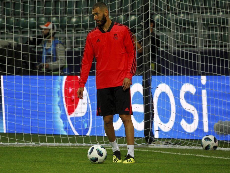 Atletico Madrid training