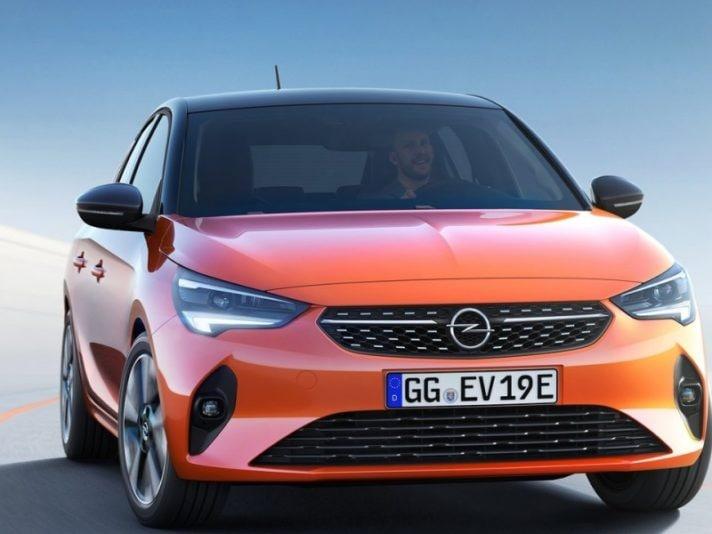 Opel Corsa-e sfondo