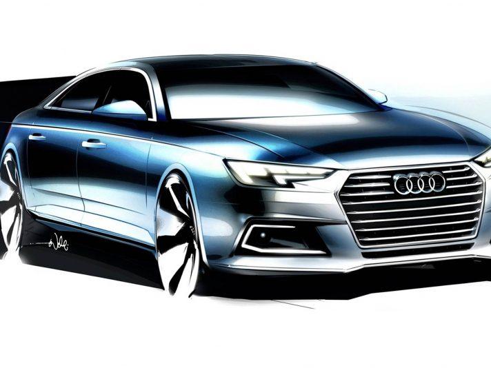 Audi A4 B9 design