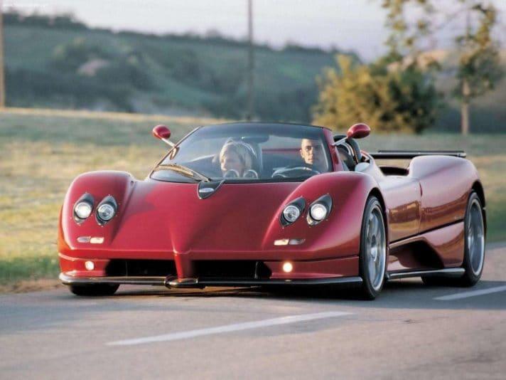 2003 - Pagani Zonda C12-S Roadster