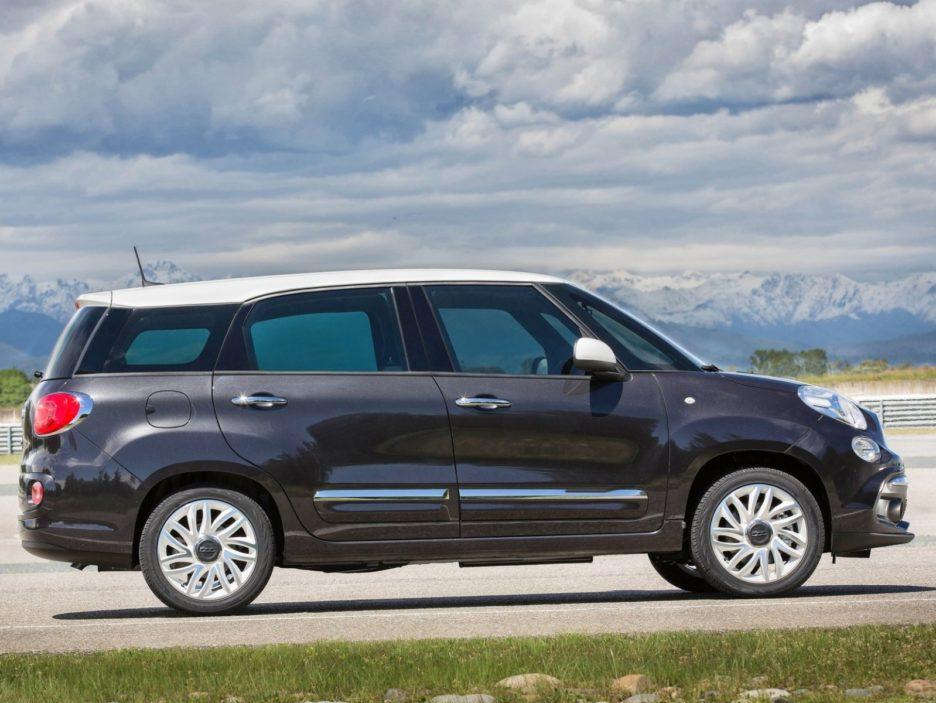Fiat 500L Wagon profilo