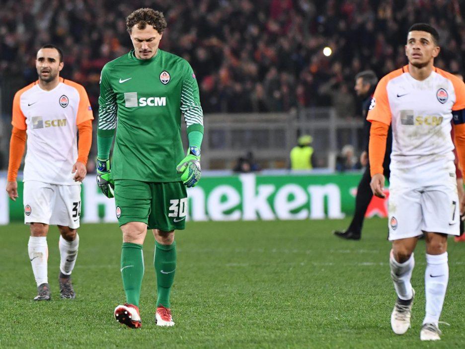 Soccer: Champions League; Roma-Shakhtar Donetsk