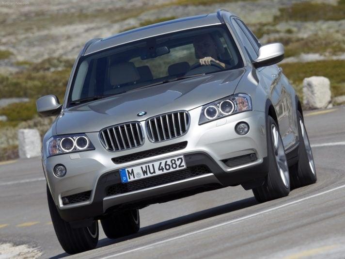 BMW X3 frontale