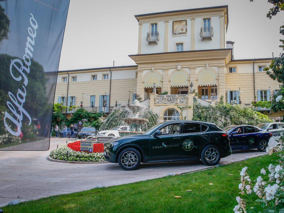 Alfa Romeo Stelvio e Giulia Quadrigloglio strade stellate 2