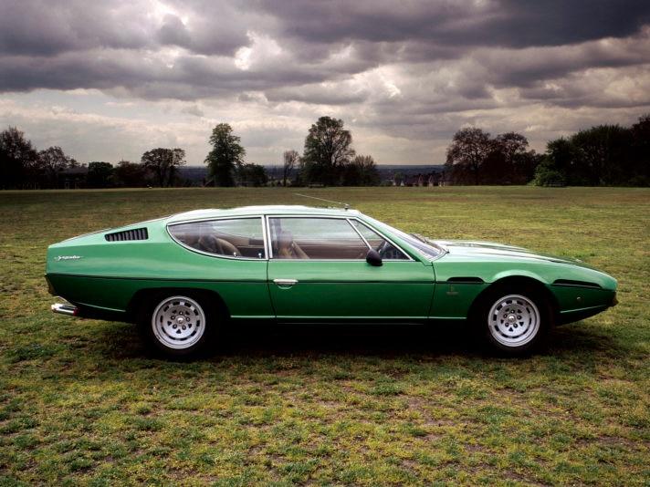 Lamborghini Espada, c1970.