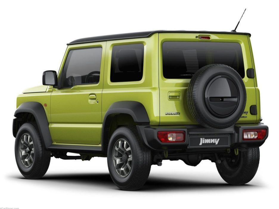 Suzuki Jimny tre quarti posteriore