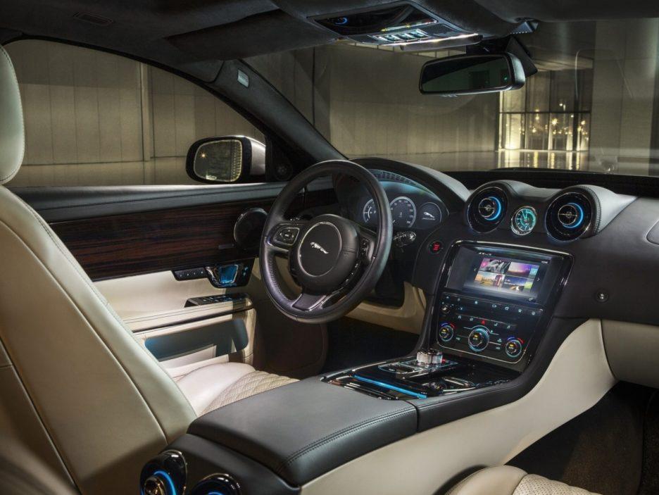 Jaguar XJ interni