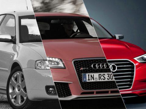 Audi A3 - Fotostory di 3 generazioni