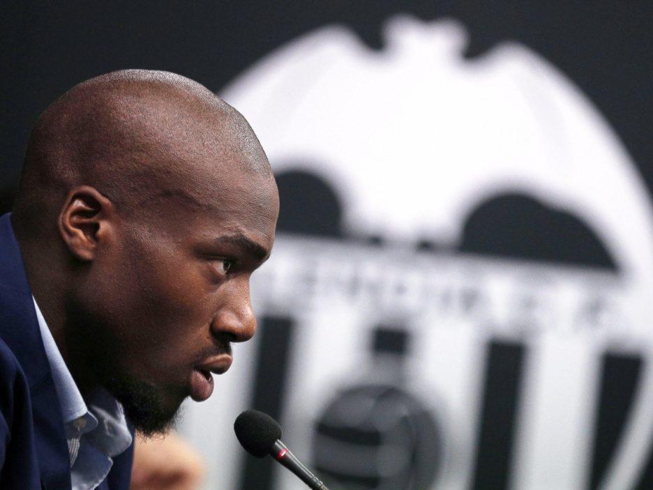 New Valencia CF player Geoffrey Kondogbia