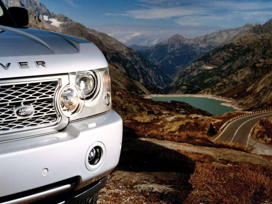 Land Rover Range Rover faro anteriore