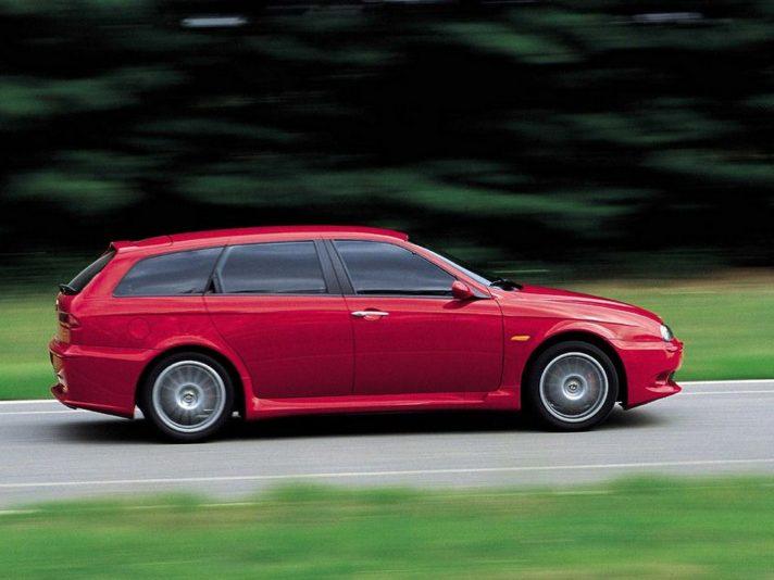 Alfa Romeo 156 Sportwagon GTA profilo