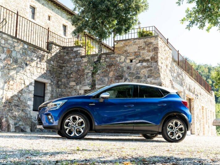 Renault Captur Plug-in Hybrid profilo