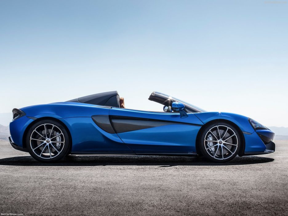 McLaren 570S Spider profilo