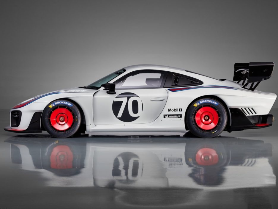 Porsche 935 profilo
