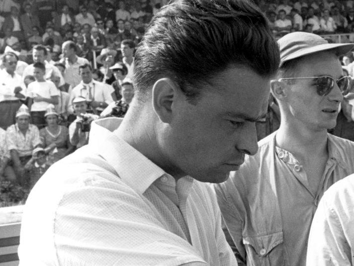Giulio Alfieri, Stirling Moss, Grand Prix Of Italy