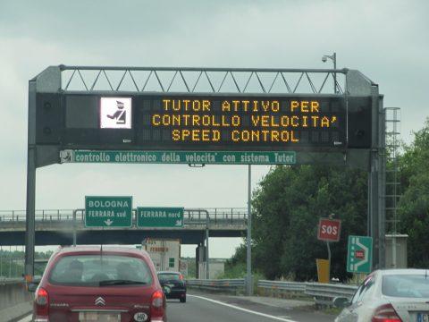 ++ Autostrade: Tutor resta,ma sostituito da nuovo sistema ++