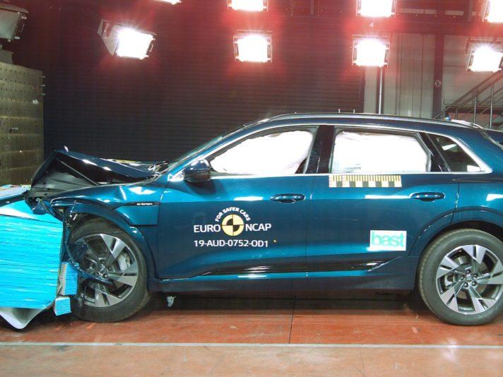 Audi e-tron Euro NCAP