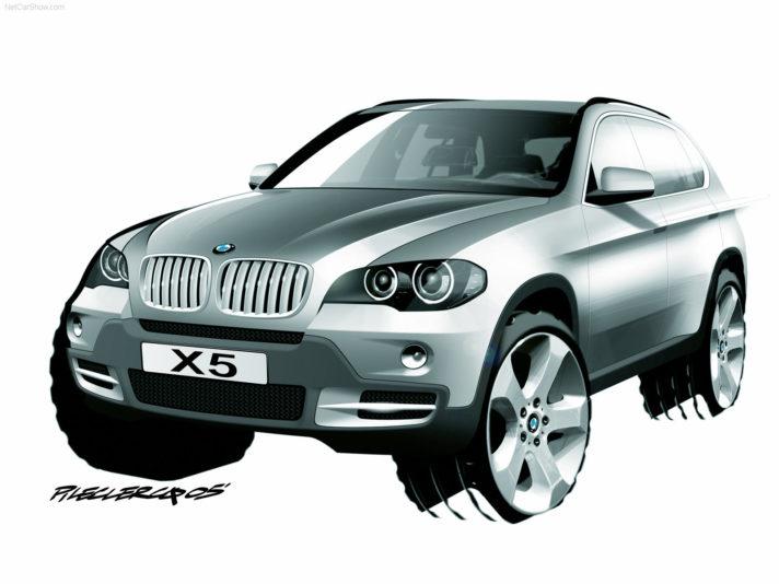 BMW X5 seconda generazione design