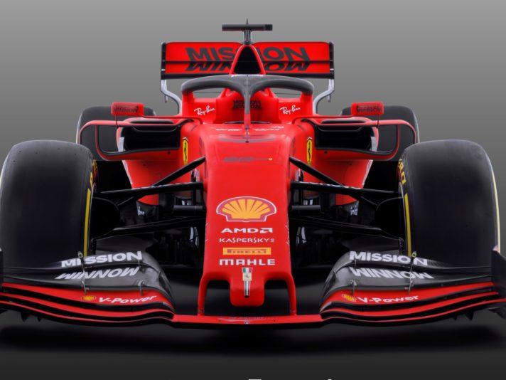 Ferrari SF90 frontale