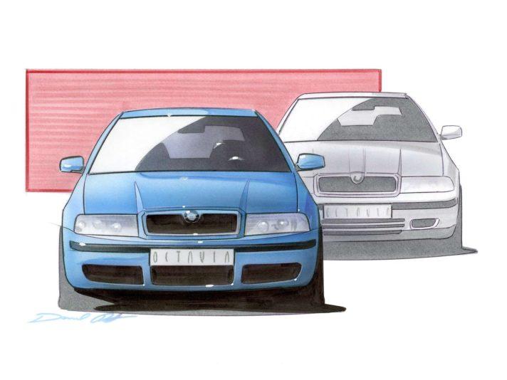 Skoda Octavia prima generazione restyling design 4