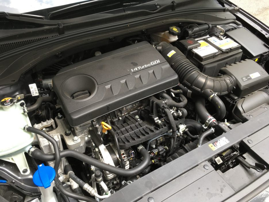 Hyundai i30 Fastback motore