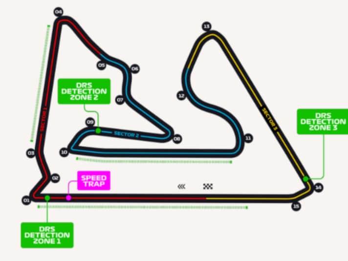 1 - GP Bahrein
