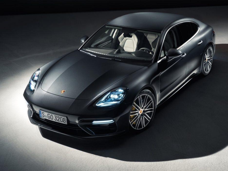 Porsche Panamera vista dall'alto