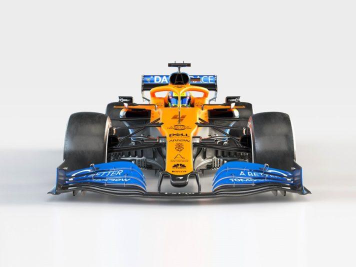 McLaren MCL35 frontale