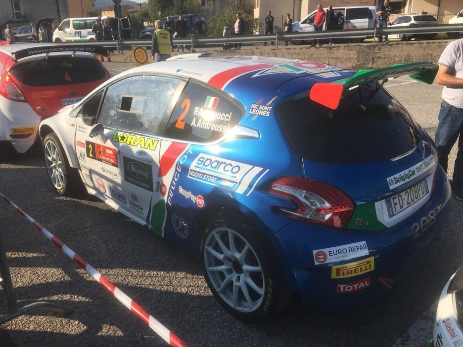 Andreucci Peugeot 208 5 Rally Due Valli 2018