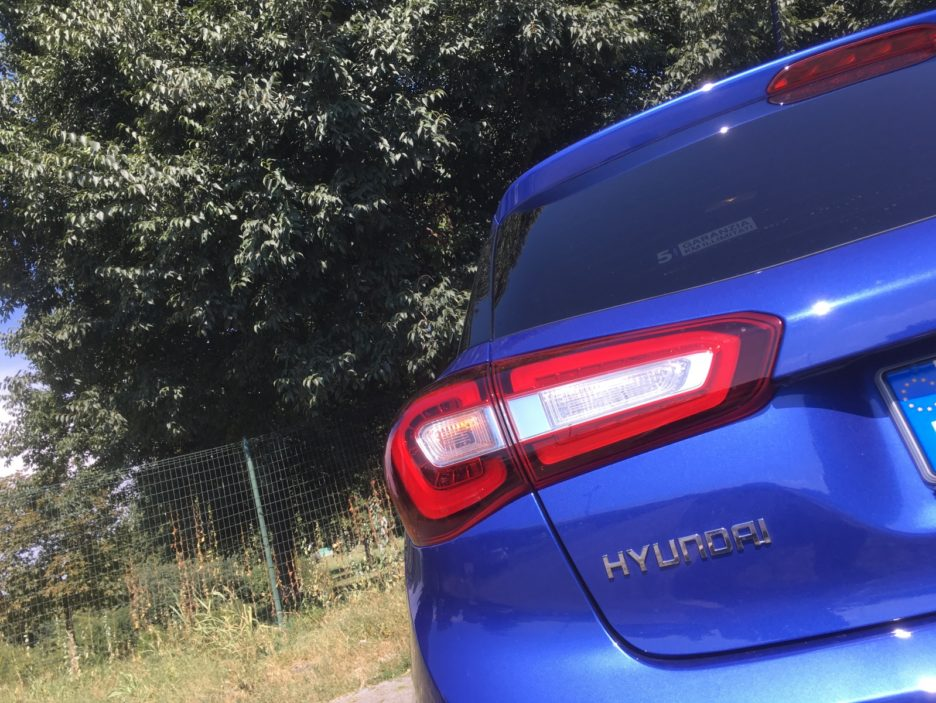Hyundai i20 faro posteriore